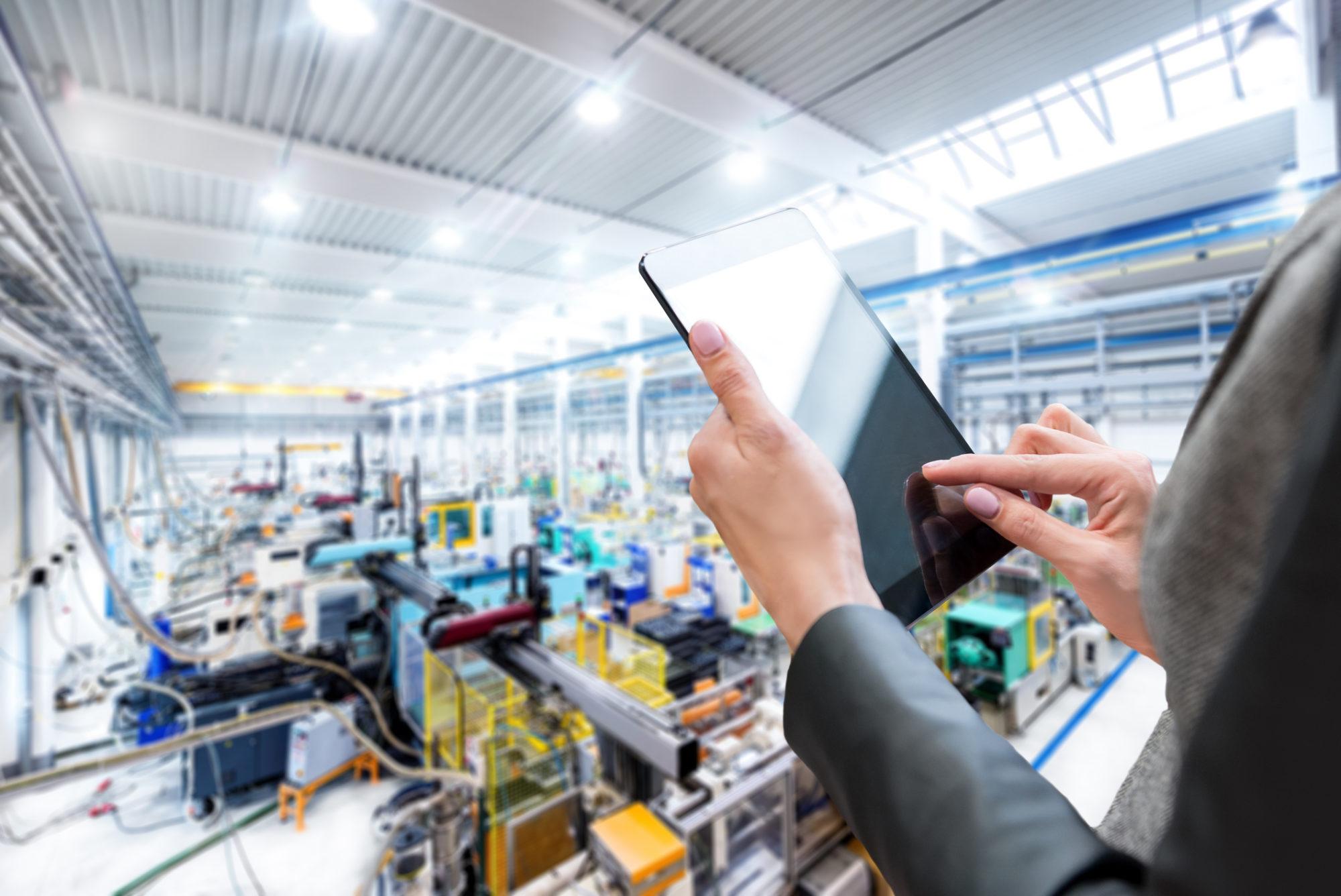 Expertise & digital tablet & production line